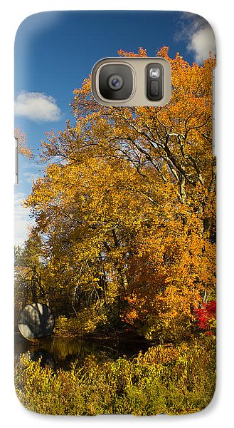 Galaxy Case featuring the photograph Yellow Giant by Jose Oquendo