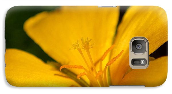 Galaxy Case featuring the photograph Yellow by Greg Allore
