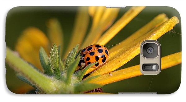 Galaxy Case featuring the photograph Yellow Lady - 2 by Kenny Glotfelty