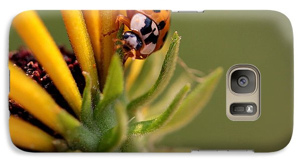 Galaxy Case featuring the photograph Yellow Lady - 4 by Kenny Glotfelty