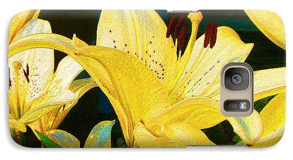 Yellow Lilies Galaxy S7 Case