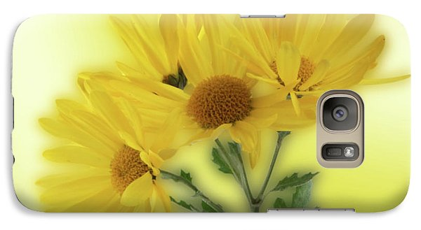 Galaxy Case featuring the photograph Yellow  by Ron Roberts