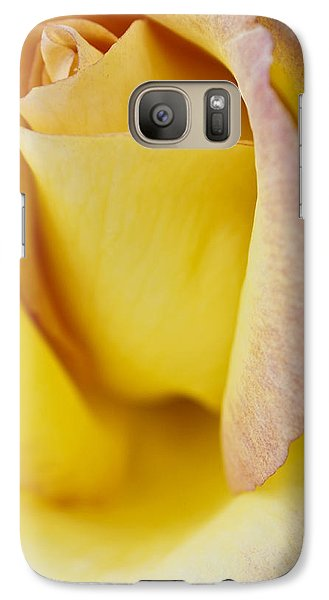 Galaxy Case featuring the photograph Yellow Rose by Lana Enderle