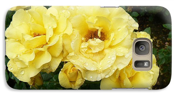 Galaxy Case featuring the photograph Yellow Rose Of Pa by Michael Porchik