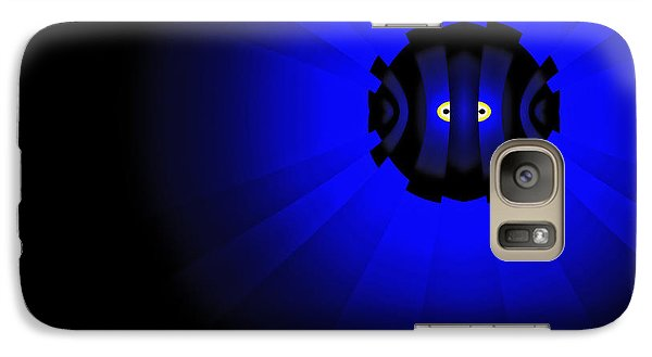 Galaxy Case featuring the digital art Yellow Submariner by GJ Blackman