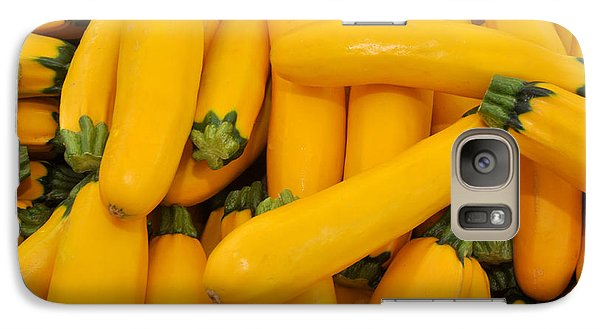 Galaxy Case featuring the photograph Yellow Summer Squash by Diane Lent
