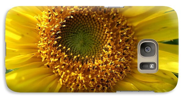 Galaxy Case featuring the photograph Yellow Sunshine by Neal Eslinger