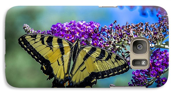 Galaxy Case featuring the photograph Yellow Swallowtail by Phil Abrams
