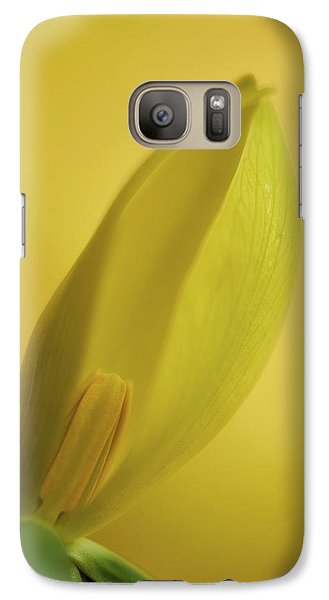 Yellow Trillium - Trillium Luteum Galaxy S7 Case by Photography  By Sai