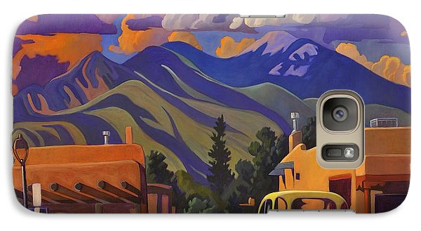 Galaxy Case featuring the painting Yellow Truck by Art James West