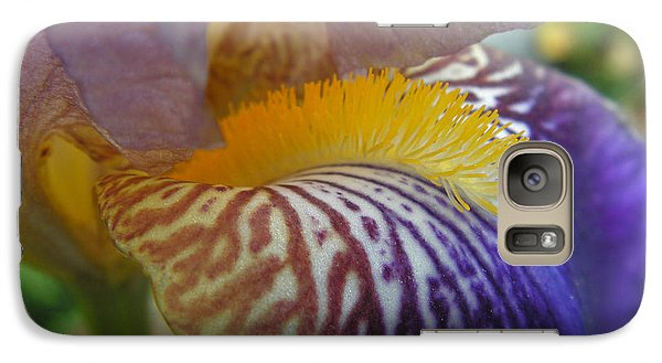 Galaxy Case featuring the photograph Yellow Tuft by Cheryl Hoyle