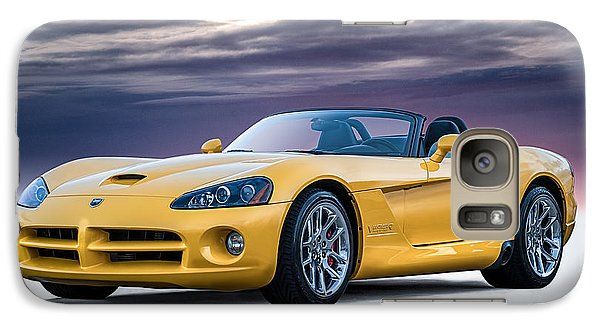 Yellow Viper Convertible Galaxy S7 Case