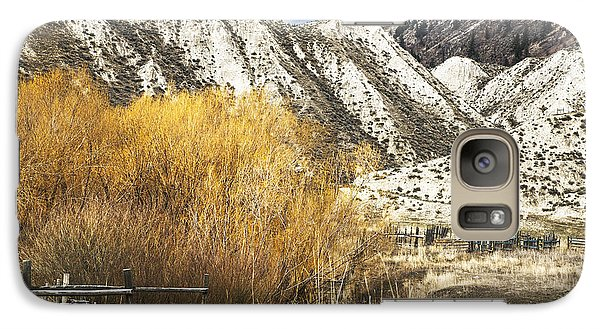 Galaxy Case featuring the photograph Yellow Willow by Sandi Mikuse