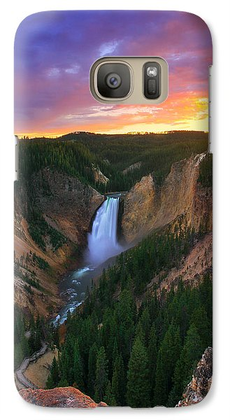 Galaxy Case featuring the photograph Yellowstone Beauty by Kadek Susanto