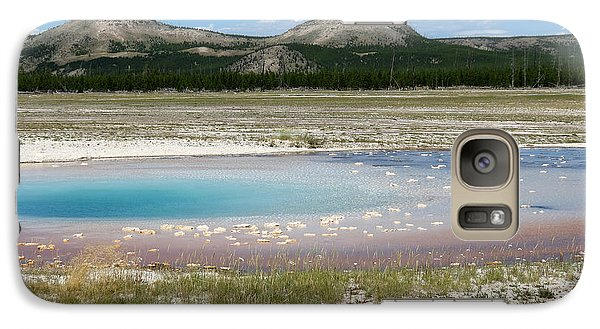 Galaxy Case featuring the photograph Yellowstone Landscape by Laurel Powell