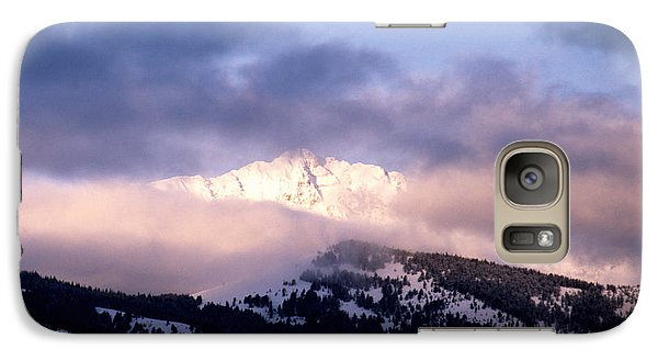 Galaxy Case featuring the photograph Yellowstone Morning by Sharon Elliott