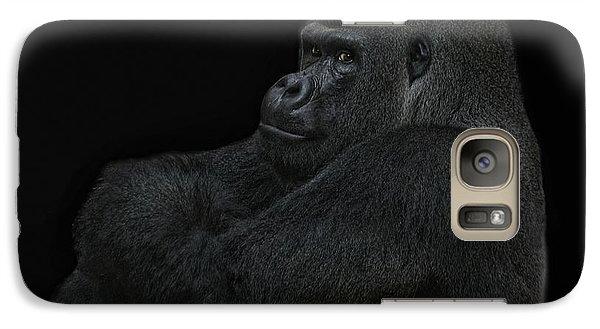 Gorilla Galaxy S7 Case - yes I m the great pretender by Joachim G Pinkawa