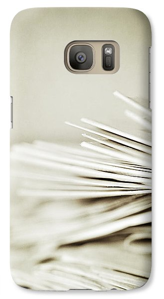 Galaxy Case featuring the photograph Yesterday's News by Trish Mistric