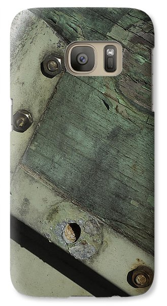 Galaxy Case featuring the photograph Yesterday's Seafoam by Rebecca Sherman