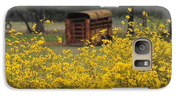 Galaxy Case featuring the photograph Yesteryear by Renee Hardison