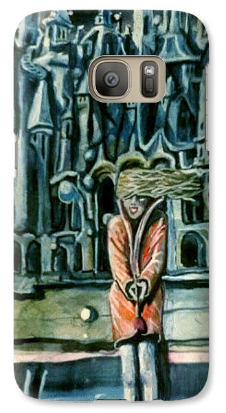 Galaxy Case featuring the painting Yevganyevna  by Steven Holder