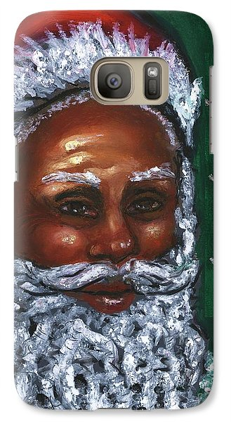 Galaxy Case featuring the mixed media Yo Yo Yo . . .  Merry Christmas by Alga Washington