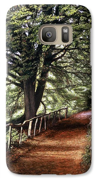 Galaxy Case featuring the painting Yockletts Bank by Rosemary Colyer