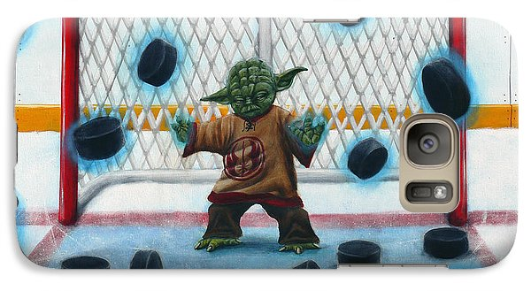 Yoda Saves Everything Galaxy Case by Marlon Huynh