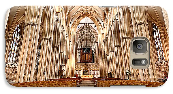 Galaxy Case featuring the photograph York Minster I by Jack Torcello