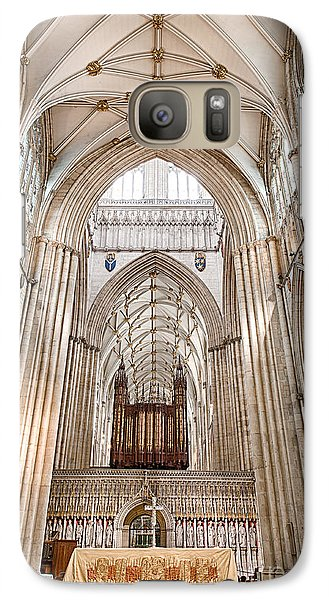 Galaxy Case featuring the photograph York Minster IIi by Jack Torcello