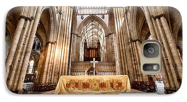 Galaxy Case featuring the photograph York Minster IIII by Jack Torcello