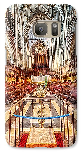 Galaxy Case featuring the photograph York Minster V by Jack Torcello
