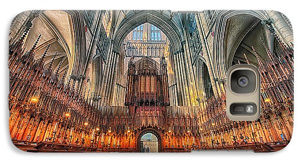 Galaxy Case featuring the photograph York Minster Vii by Jack Torcello