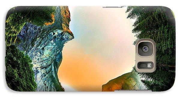 Yosemite National Park Galaxy S7 Case - Yosemite Circagraph by Az Jackson