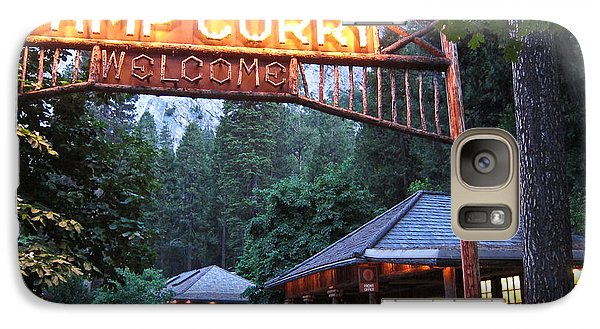Galaxy Case featuring the photograph Yosemite Curry Village by Shane Kelly