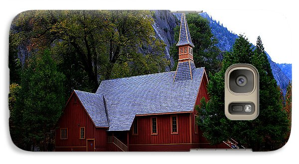 Galaxy Case featuring the photograph Yosemite Fall  Chapel  by Duncan Selby