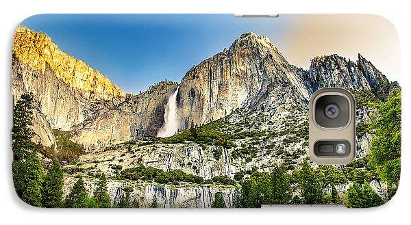 Yosemite National Park Galaxy S7 Case - Yosemite Falls  by Az Jackson