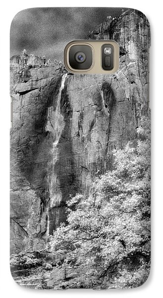 Galaxy Case featuring the photograph Yosemite Falls by Mark Greenberg