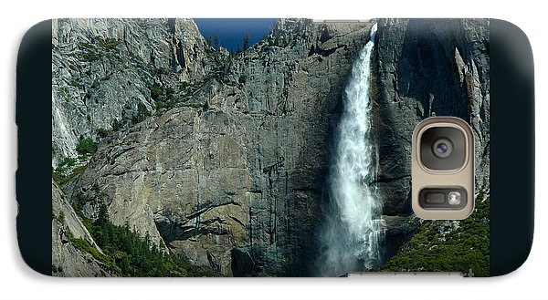 Galaxy Case featuring the photograph Yosemite Falls by Nick  Boren