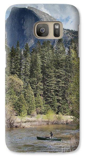 Yosemite National Park. Half Dome Galaxy Case by Juli Scalzi