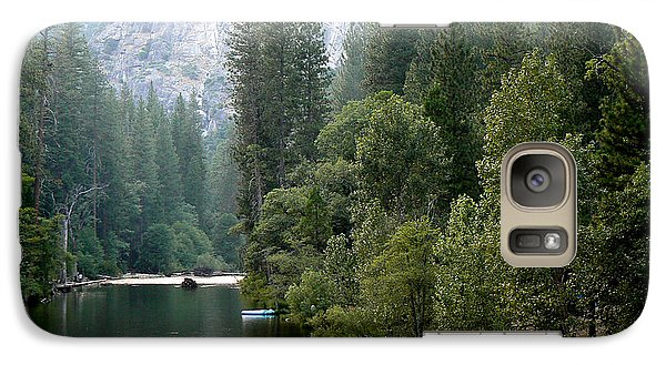 Galaxy Case featuring the photograph Yosemite National Park by Laurel Powell