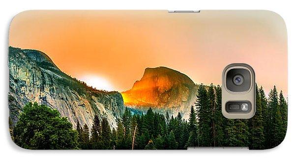 Yosemite National Park Galaxy S7 Case - Sunrise Surprise by Az Jackson