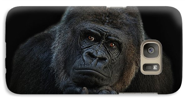 Gorilla Galaxy S7 Case - You Ain T Seen Nothing Yet by Joachim G Pinkawa