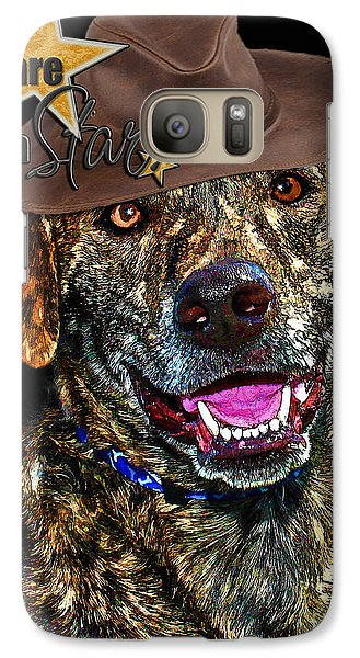 Galaxy Case featuring the digital art You Are A Star by Kathy Tarochione