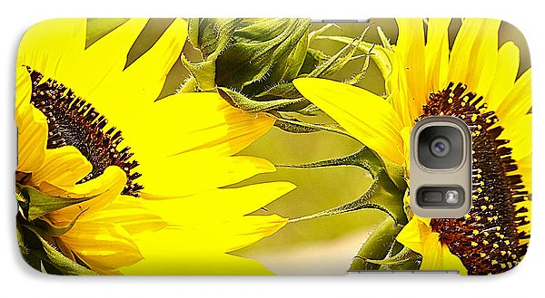 Galaxy Case featuring the photograph You Are My Sunshine.... by Tammy Schneider
