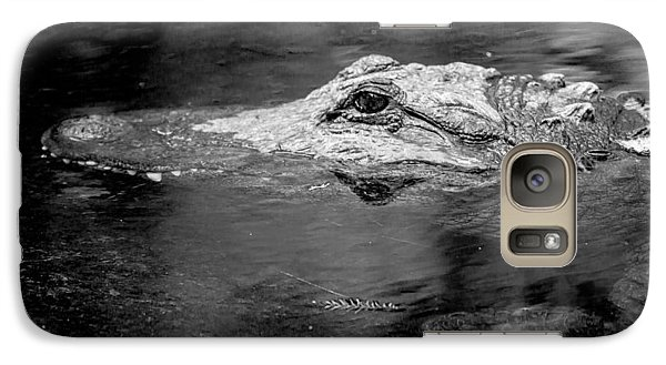 Galaxy Case featuring the photograph You Better Not Go At Night by Wade Brooks