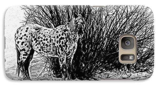 Galaxy S7 Case featuring the photograph You Can't See Me by Karen Shackles