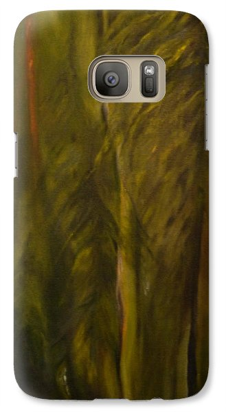 Galaxy Case featuring the painting You Can't See The Forest For The Trees by Nadine Dennis