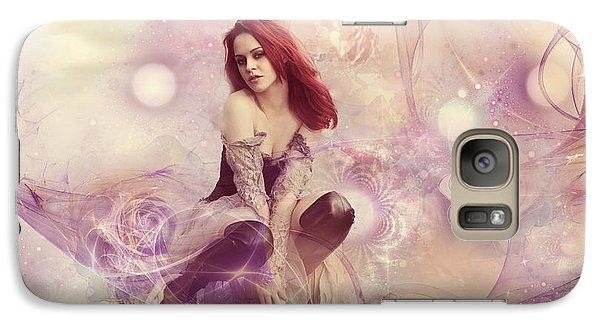 Galaxy Case featuring the digital art You Gonna Miss Me When I Am Gone by Riana Van Staden