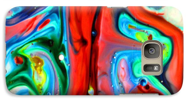 Galaxy Case featuring the painting You Make Me Feel Like Dancing by Joyce Dickens